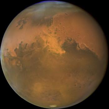 Ученые недавно обнаружили cкальные образования, которые могут содержать ископаемые останки жизни на Марсе. Фото с савйта  epochtimes.ru