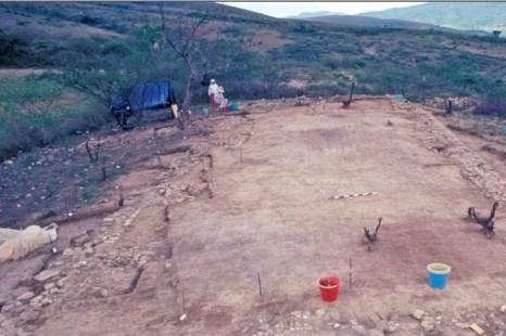 Часть древнего храма, где возможно делали человеческие жертвоприношения. Cкриншот LiveScience