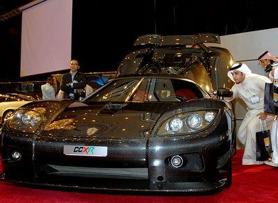 Koenigsegg CCXR - 3 место - 400 км/ч (по другим данным – 410 км/ч). Мощность двигателя 1018 л.с., 1080 Нм. Цена - $1 950 000. Koenigsegg CCX - 4 место – 395 км/ч. Мощность двигателя: 806 л.с., 920 Нм. Цена - $675 000. Фото:Omar Salem/AFP/Getty Images