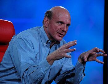 Нынешний глава Microsoft Стив Балмер. Фото: David Geller/Flickr.com