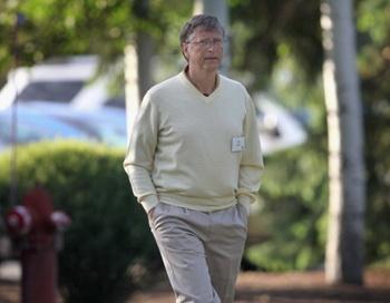 Билл Гейтс на конференции Allen & Company Sun Valley Conference, проходившей 7 июля в Айдахо. Фото: Скот ОЛСОН/Getty Images
