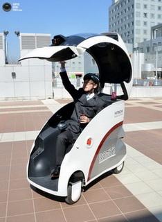 Автомобиль-робот представила компания Хитачи. Фото:images.yandex.ru