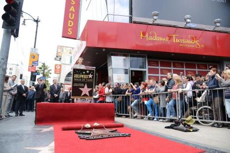 Звезда Скарлетт Йоханссон засияла на Аллее славы в Голливуде. Фоторепортаж. Фото: Gareth Cattermole/Getty Images