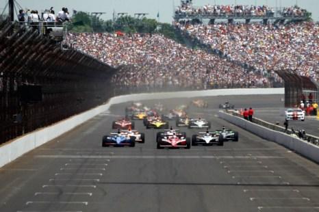 Спортивные автомобили на автогонках «Индианаполис – 500». Фото: Robert Laberge/Nick Laham/Getty Images
