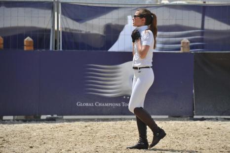Шарлотта Казираги принимает участие в чемпионате по верховой езде - Global Champions Tour 2012. Фоторепортаж. Фото: Pascal Le Segretain/Getty Images