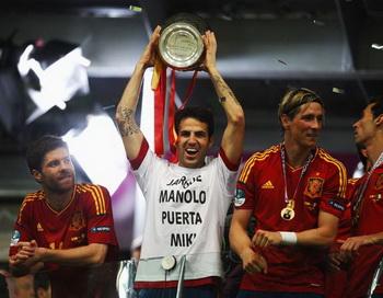 Евро-2012. Сборная Испании по футболу стала чемпионом Европы. Фото: Martin Rose/Getty Images