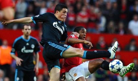 Фоторепортаж c матча «Манчестер Юнайтед»  -  «Шальке 04».  Хороший футбол  Фото: Lars Baron/Michael Regan/Getty Images