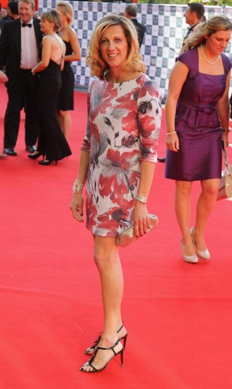 Гости на Олимпийском концерте в Лондоне. Sally Gunnell. Фоторепортаж из  Royal Albert Hall. Фото: Alastair Grant -WPA Pool/Getty Images