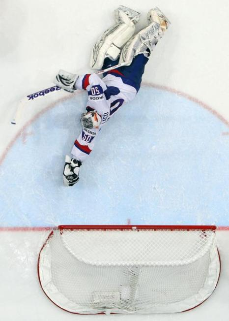 Сборная России по хоккею выиграла у словаков финал ЧМ со счётом 6:2. Фоторепортаж из Хельсинки. Фото: Martin Rose/Bongarts/Getty Images
