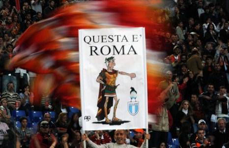 Миланский «Интер» – «Рома». Фото: Claudio Villa, Vincenzo PINTO, Paolo BRUNO, Alberto PIZZOLI, Christophe SIMON/Getty Images