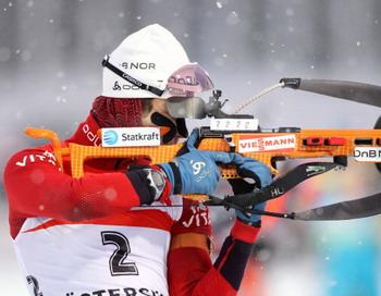 Уле Эйнар Бьорндален. Фото: BORIS STREUBEL/Getty Images