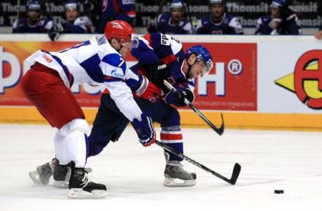 Словакия-Россия.  Фото: Martin ROSE/Bongarts/Getty Images