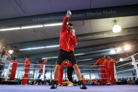 Владимир Кличко чемпион мира по боксу по версиям IBF, IBO и WBO. Фото: Alex GGIMM/Bongarts/Getty Images