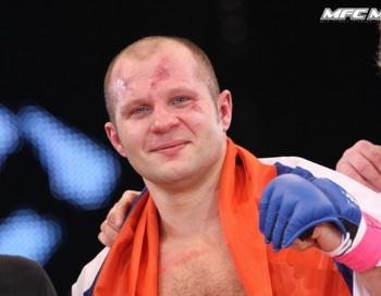 Фёдор Емельяненко после боя. Фото: mixfight.ru