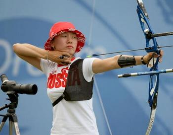 Наталья Эрдыниева. Фото: Jed JACOBSOHN/Getty Images