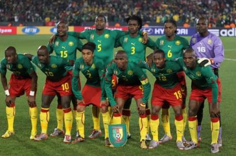 Сборная Камеруны. Фото: Clive ROSE/AFP/Getty Images