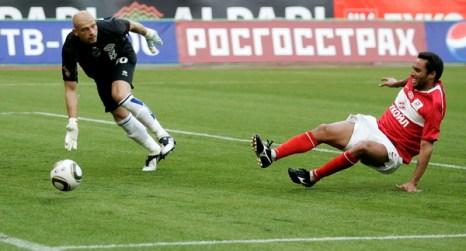 Московский «Спартак» - «Сибирь». Фото: Vladimir PESNYA/Epsilon/Getty Images