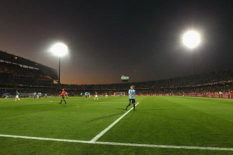 Южная Африка. Рустембург. стадион Роял Бафокенг: Мексика – Уругвай. Фото: Streeter LECKA/Getty Images