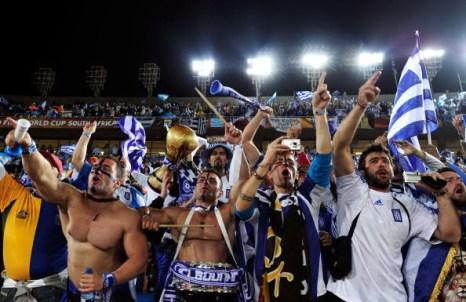 Греция – Аргентина. Фото: Valery HACHE, Ian WALTON,  Stuart FRANKLIN, Phil COLE, Chris McGRATH/AFP/Getty Images