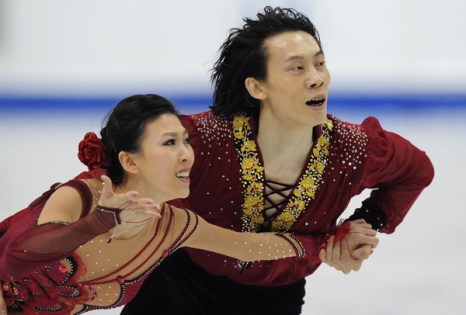 Пан Цин и Тон Цзян. Фото: Yuri  KADOBNOV/AFP/Getty Images