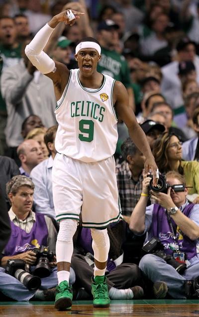 Райан Рондо, Boston Celtics. Фото: Ronald MARTINEZ/Getty Images