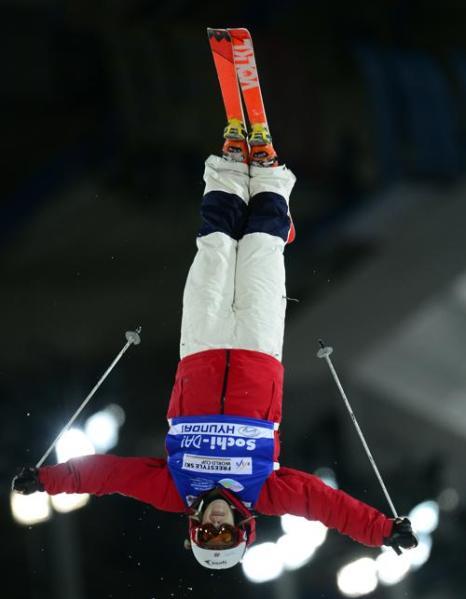 Кубок мира по фристайлу в могуле. Фото: JAVIER SORIANO/AFP/Getty Images