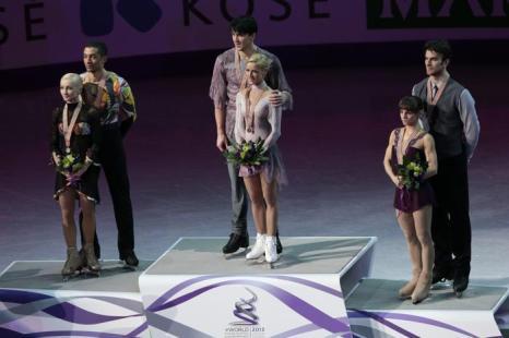Волосожар и Траньков стали чемпионами мира. Фото: GEOFF ROBINS/AFP/Getty Images