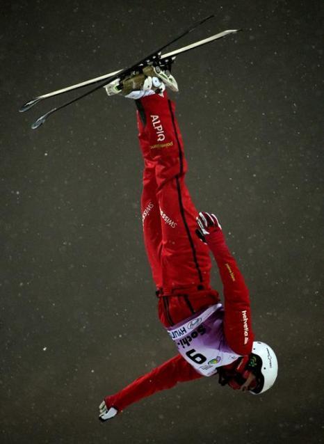 Швейцарская спортсменка Таня Шерер, 3 место среди женщин. Фото: JAVIER SORIANO/AFP/Getty Images