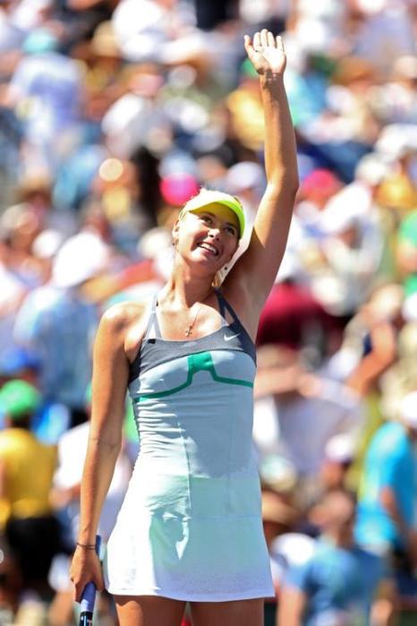 Мария Шарапова победила в престижном турнире WTA Индиан-Уэллса. Фото: Matthew Stockman/Getty Images
