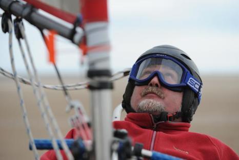 Гонка парусников на колёсах прошла в Редкаре. Фото: Ian Forsyth/Getty Images