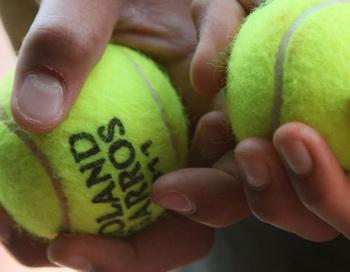 Теннисные мячи. Фото РИА Новости