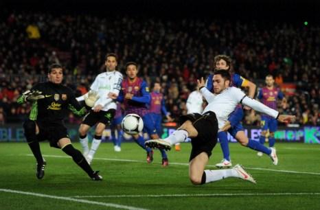 «Барселона» выиграла у «Валенсия» матч кубка «Копа дель Рей». Фоторепортаж. Фото: Jasper Juinen/Getty Images