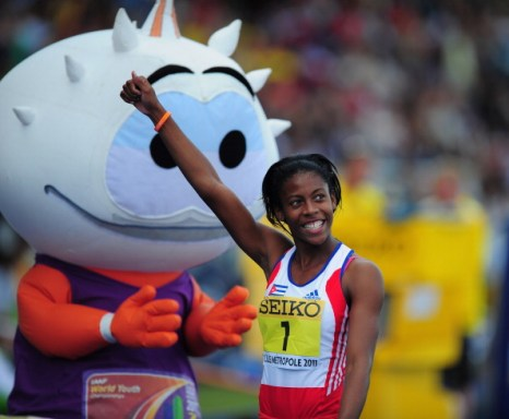 Соревнования по легкорй атлетике на  молодежном чемпионате ИААФ 9 июля.  Фото:  Stu Forster/Getty Images