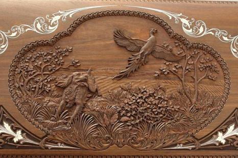 Фотографии работ резчика по дереву Валерия Простянкина. Фото с сайта fresher.ru