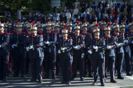 Фоторепортаж о Военном параде в Мадриде. Фото: Carlos Alvarez/Getty Images