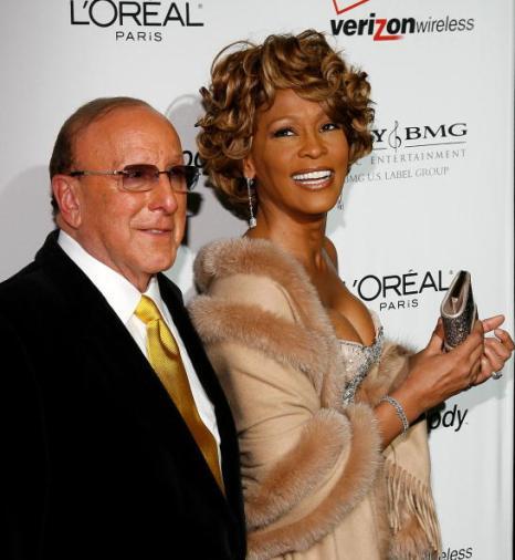 Уитни Хьюстон. (Clive Davis; Whitney Houston). Фото: Getty Images