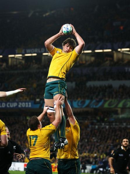 Команда Новой Зеландии выиграла полуфинальный матч ЧМ по регби у Австралии – 6:20. Фоторепортаж с матча. Фото: Mark Metcalfe/Getty Images