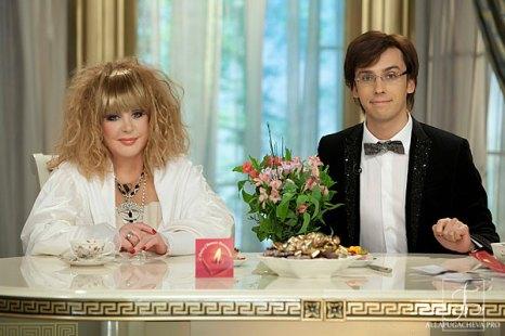 Алла Пугачева и Максим Галкин. Исповедь любви. Фото с сайта  allapugacheva.pro