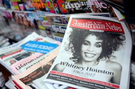 С Уитни Хьюстон простились в Нью-Йорке. Фоторепортаж. Фото: Robin Marchant/Getty Images