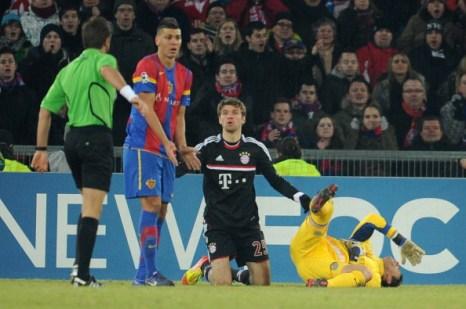 «Базель» выиграла у «Баварии» со счтеом 0:1. Фоторепортаж  с матча. Фото: Alex Grimm/Bongarts/Getty Images