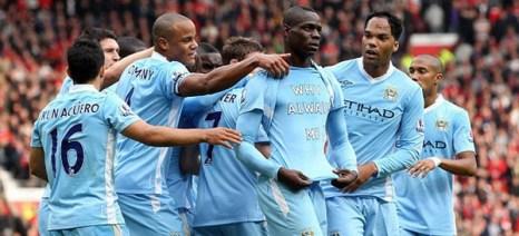 «Манчестер Сити»  разгромил «Манчестер Юнайтед»  со счетом 6:1. Фото с сайта bluemoon-rus.com