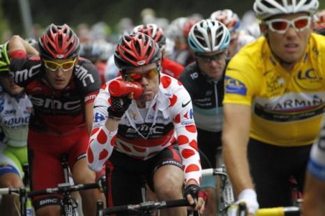 Пятый этап велогонки Tour de France выиграл британец Марк Кавендиш. Фоторепортаж с трассы. Фото: Michael Steele/ JOEL SAGET /PASCAL PAVANI/AFP/Getty Images