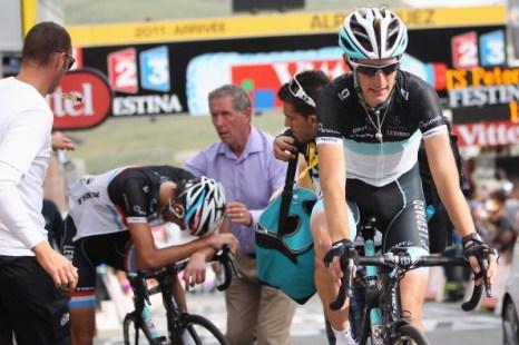 Пьер Роллан выиграл девятнадцатый этап велогонки Tour de France. Фоторепортаж с трассы. Фото: Michael Steele/ JOEL SAGET /PASCAL PAVANI/AFP/Getty Images