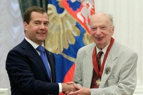 Дмитрий Медведев в Кремле вручил государственные награды. Фото с  сайта kremlin.ru
