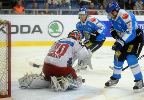 Евротур  Россия завершила победой над командой Финляндии.  Фото: MICHAL CIZEK/AFP/Getty Images