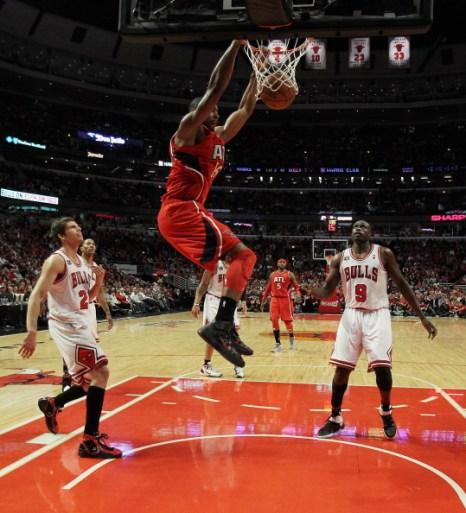 Фоторепортаж. НБА: Атланта на выезде победила Чикаго. Фото: Jonathan Daniel/Getty Images