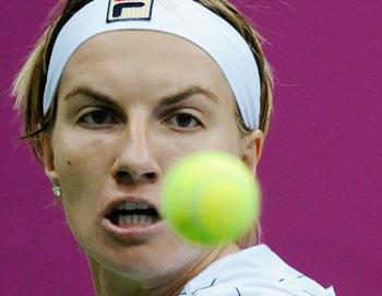 Российская теннисистка Светлана Кузнецова. Фото РИА Новости