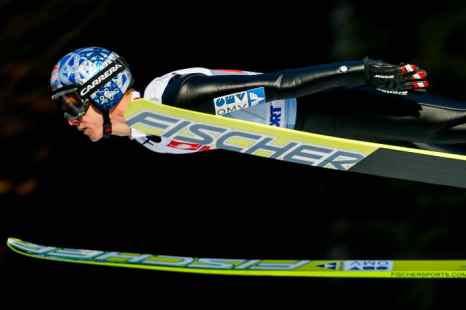 Австрийский спортсмен Томас Моргенштерн. Фото: SEYLLOU/AFP/Getty Images