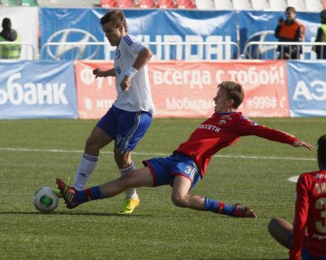 Два столичных футбольных клуба ЦСКА и «Динамо» встретились в «Лужниках» в рамках 12 тура чемпионата России 6 октября 2013 года. Счёт 0:2 в пользу динамовцев. Фото: b /Epsilon/Getty Images