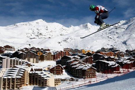 Валь Торанс (фр. Val Thorens) - французская горнолыжная станция, расположенная на высоте   2300 м, является самой высокогорной в Европе. Фото: Christophe Pallot/Agence Zoom/Getty   Images